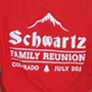custom shirts for the Schwartz Family Reunion